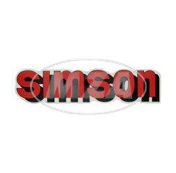 Klebefolie Simson-Tank, rot