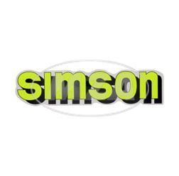 Klebefolie Simson-Tank, neongelb