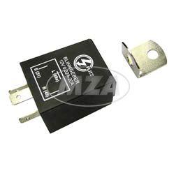 Elektronischer Blinkgeber 12V - PLITZ - 3-poliger Anschluß (31, 49, 49a) - 0,02- 20A entspricht 0,24-240W - universell einsetzbar - mit Haltewinkel