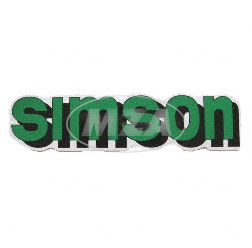Klebefolie Simson-Tank, grün