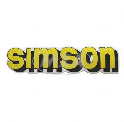Klebefolie Simson-Tank, gelb