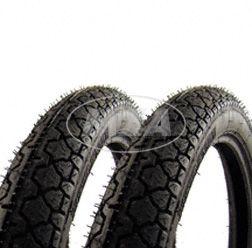 SET Reifen - 2 Stück - 2 3/4 - 16  K36/1  46 J