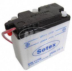 SOTEX-Batterie - 6N4B2A-3 - 6V 4,0 Ah - z.B. für KR51 Schwalbe