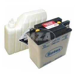 SOTEX-Batterie - 6N11A-1B - 6V 11Ah - inkl. Batteriesäure - für S50, S51, ES150, ES250, TS150, TS250
