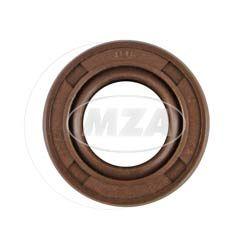 Wellendichtring NJK 12x22x07 - FPM - braun - mit Staublippe