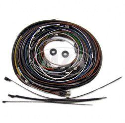 Kabelbaumset S51 B2 6V Elektronikzündung, inkl. Schaltplan