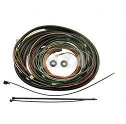 Kabelbaumset S51/1 C1 12V Elektronikzündung, inkl. Schaltplan
