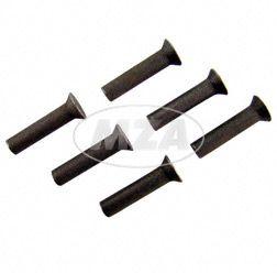 SET 6x Senkniet 4x18 - St (DIN 661)