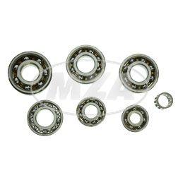 SET Kugellager SKF - für Motor MM125/3, 150/3, TS125, TS150 - 7-teilig
