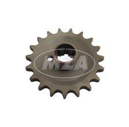 Kettenrad am Getriebe 19 Zähne TS250, ES/2, ETS 250