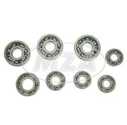 Kugellager SET Rollermotor RM150, SR59, RM150/1 (SKF-MARKENLAGER: 3x 6303 C4/ 1x 6202 C3 / 1x 6004 C3 / 3x 6201 C3) (8-teilig)