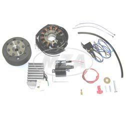 Lichtmagnetzündanlage 12V 100W mit integrierter vollelektronischer Zündung für RT125
