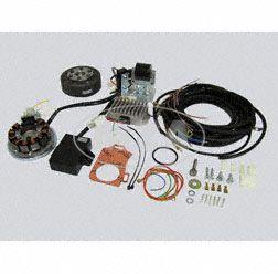 Lichtmagnetzündanlage kpl. mit Kabelbaum passend für AWO425 Sport 12V 150W