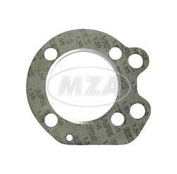 Zylinderkopfdichtung, mit verstärkten Innenring, Alu - pass. für AWO 425S - mit Einlagering (Marke: PLASTANZA / Material AFM22)