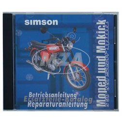 CD - Moped und Mokick - Originaldokumente (Reparaturanleitungen, Ersatzteilkataloge, Betriebsanleitungen)