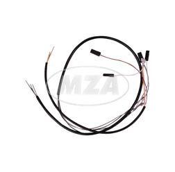 Kabelbaum für Schalterkombination - 12Volt - ohne Lichthupe - flacher Lenker - S51, S70