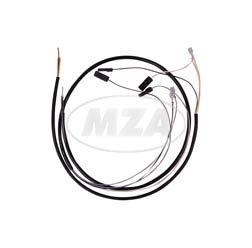 Kabelbaum für Schalterkombination - 6 + 12 Volt - ohne Lichthupe - Enduro-Lenker - S51, S70
