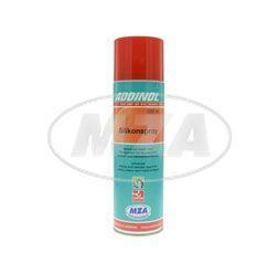ADDINOL Silikonspray - 500 ml Spraydose - bildet einen geruchsneutralen wasser-, licht- und witterungsbeständigen Schmierfilm, hohe Wasserresistenz