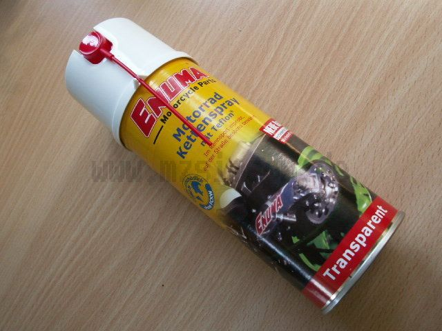 Enuma Kettenspray 400ml transparent
