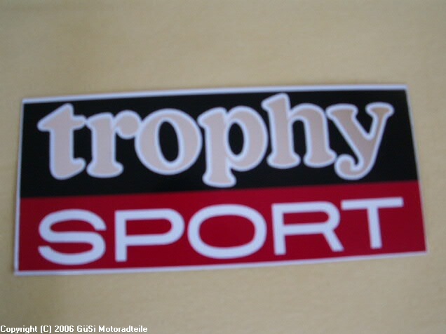 Trophy sport  Bj. 1971-1972 ws/sw/rt/chrom Paar